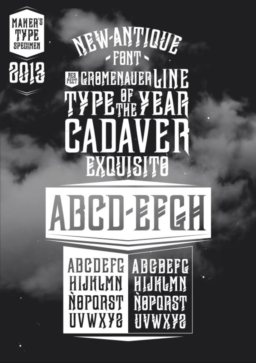 Typography - newAntique 3