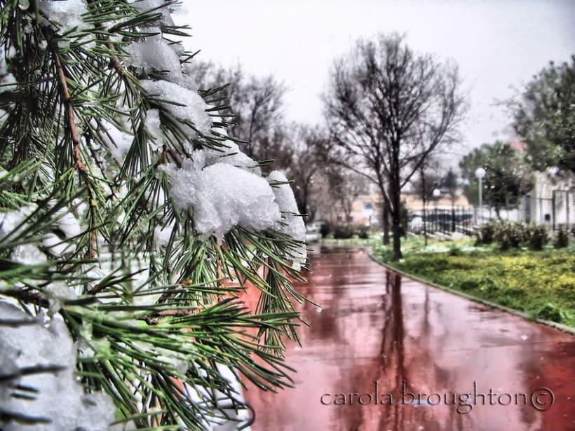 Un poco de nieve 4