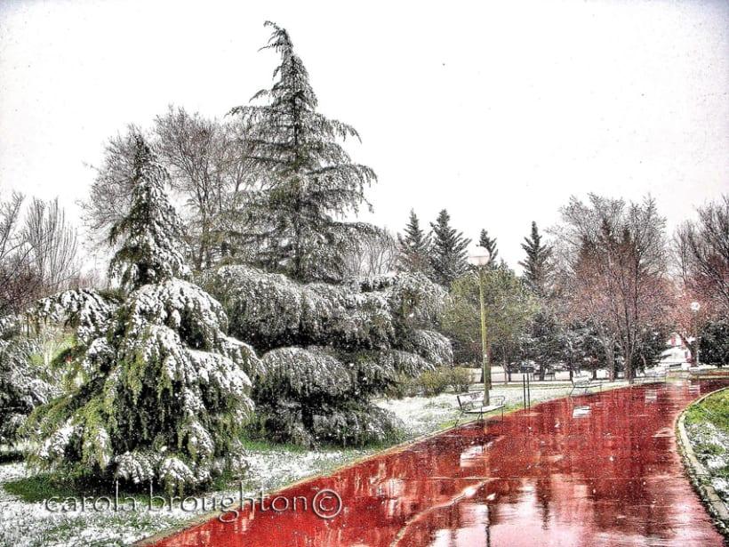 Un poco de nieve 2