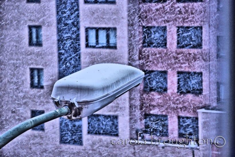 Un poco de nieve 1