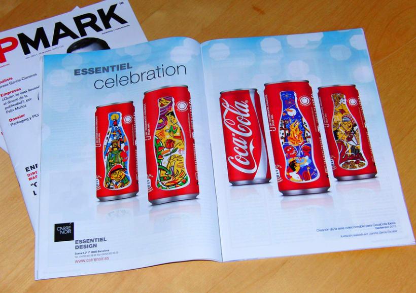 Diseño latas de Coca Cola. 1