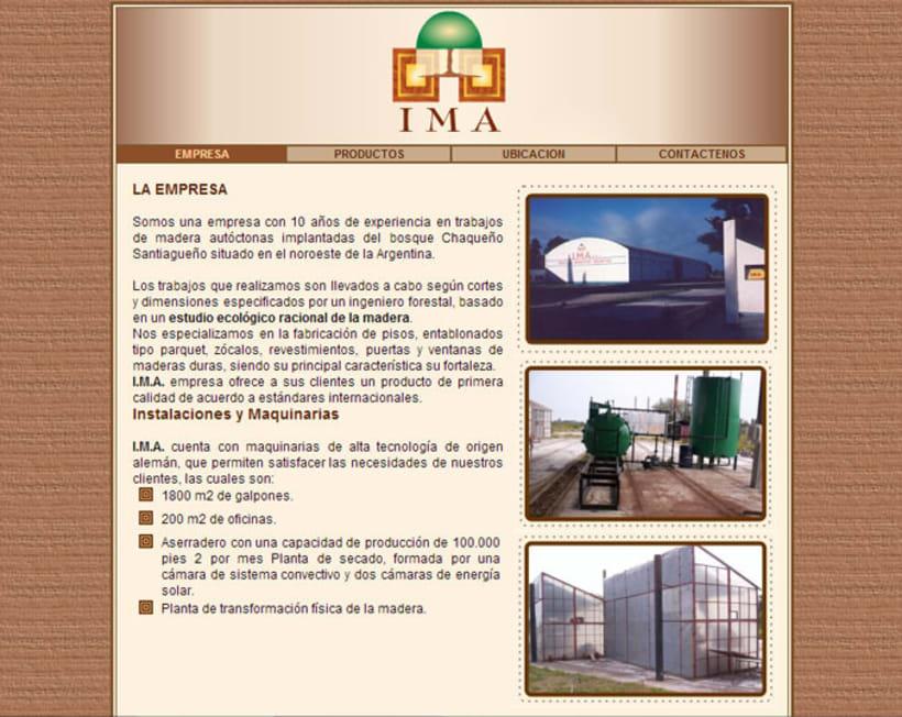 Portal Maderera IMA 2