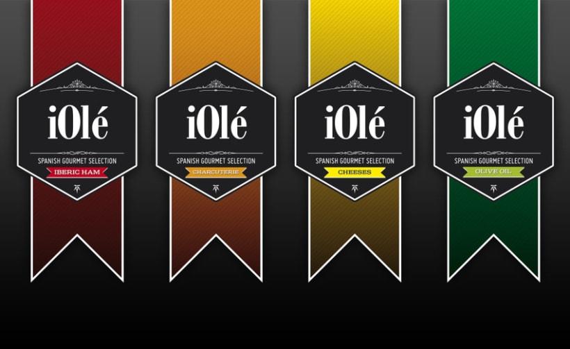 Branding y Catálogo iOlé Gourmet 2