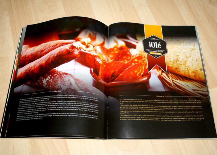 Branding y Catálogo iOlé Gourmet 6