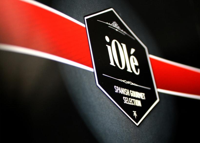 Branding y Catálogo iOlé Gourmet 3