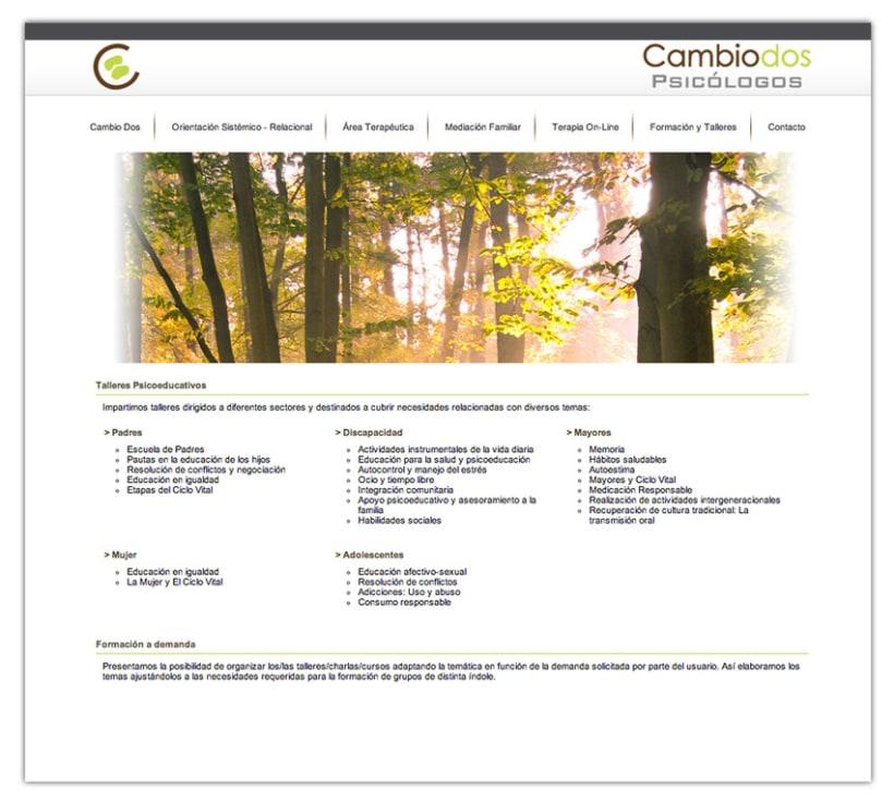 Cambio 2 website 2