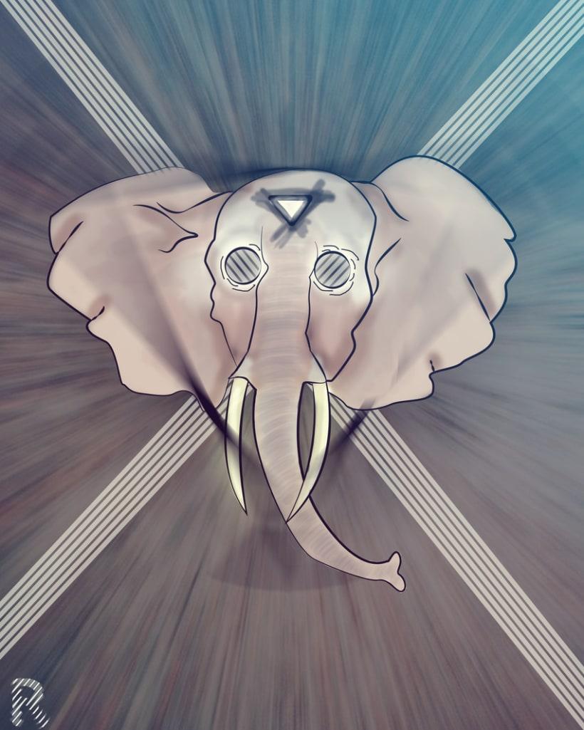 Elefant. 1