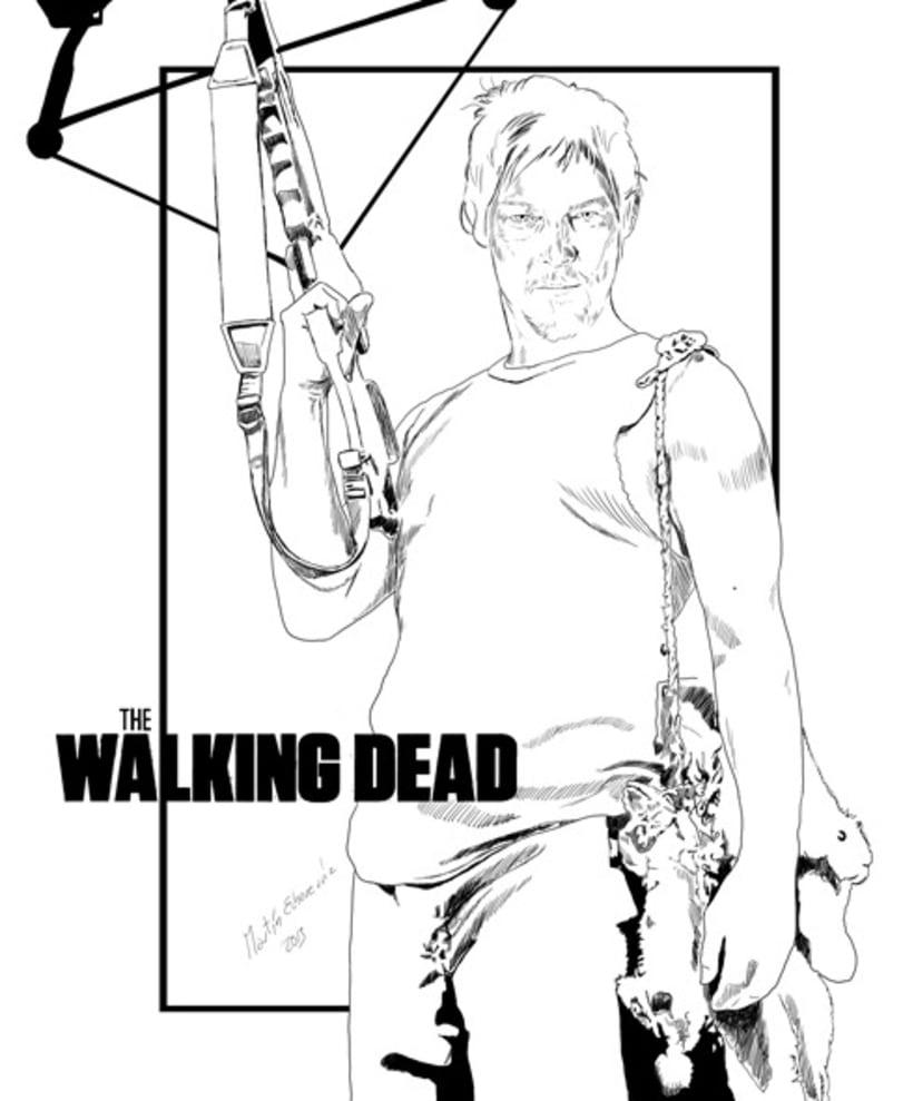 The Walking Dead Daryl 3