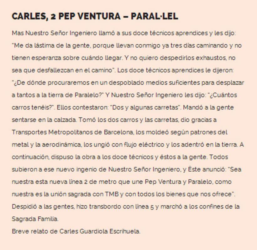 Carles 2, Pep Ventura - Paral.lel 1