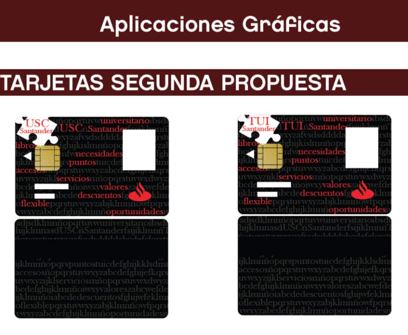 diseño Tarjetas TUI y USC Santander 6