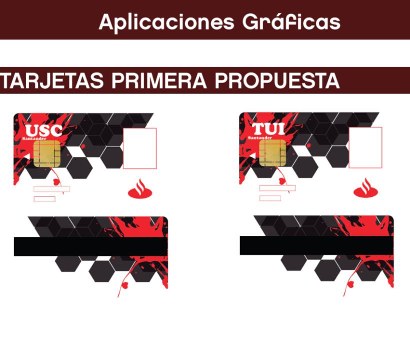 diseño Tarjetas TUI y USC Santander 5