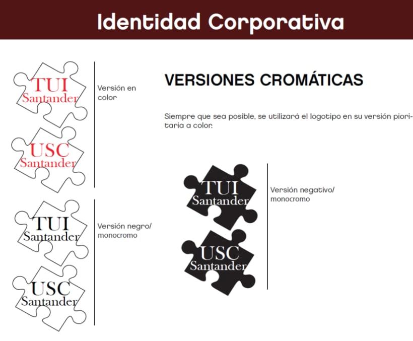 diseño Tarjetas TUI y USC Santander 4