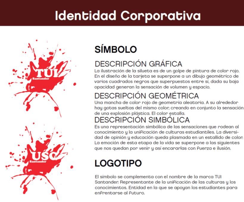 diseño Tarjetas TUI y USC Santander 1