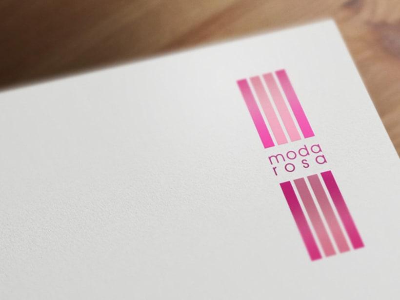 Moda Rosa | Identidad Corporativa 1