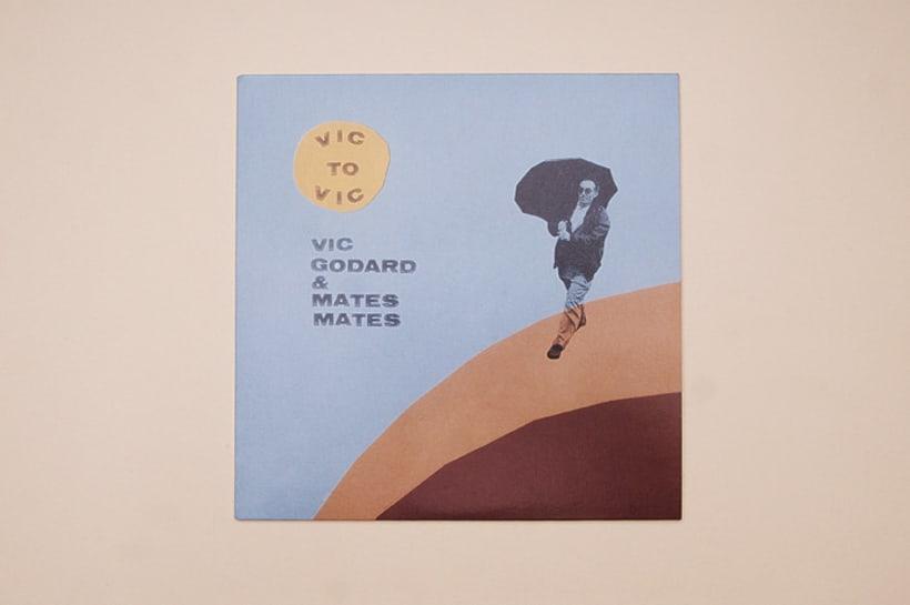 "Vic Godard & Mates Mates 7"" 1"