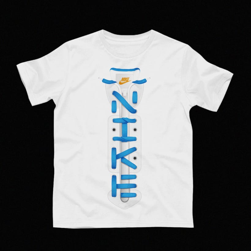 Nike laces lettering 5