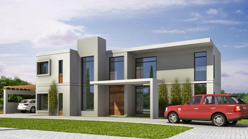 Renders viviendas unifamiliares domestika - Proyectos casas unifamiliares ...