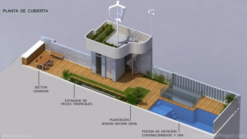 Vivienda Ecoefiente Gecohomeproject 2