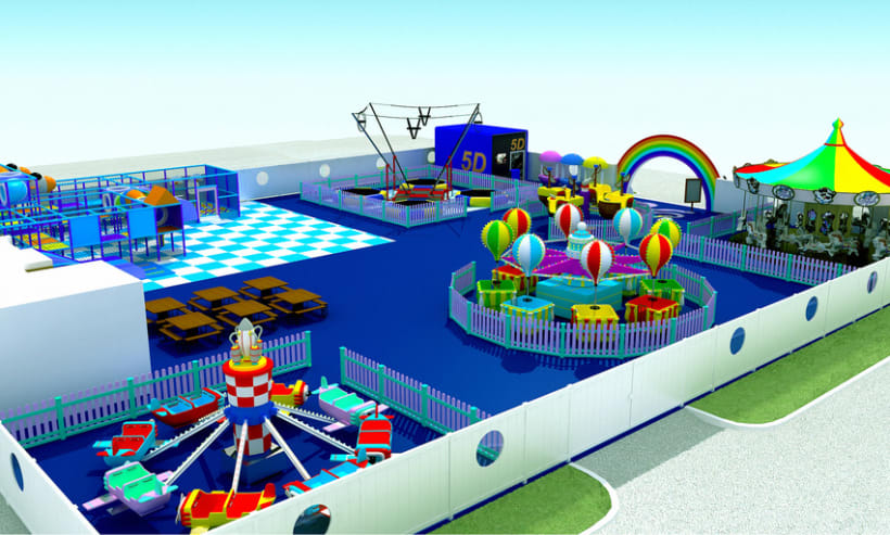Parque de diversões Polvo \ Octopus Amusement Park - Marina de Vilamoura 2
