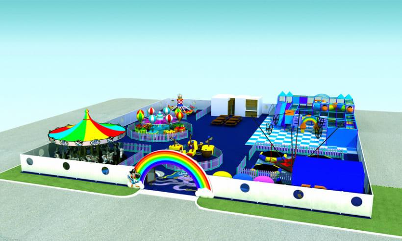 Parque de diversões Polvo \ Octopus Amusement Park - Marina de Vilamoura 1