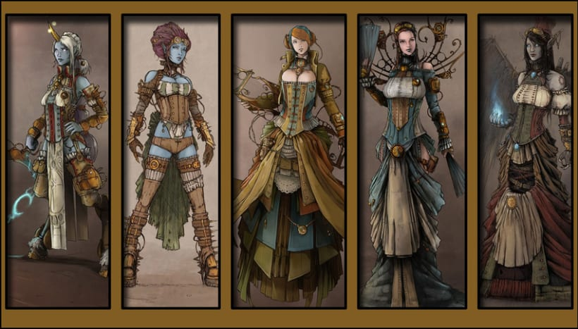Fondo Digital - League of Steampunk 1