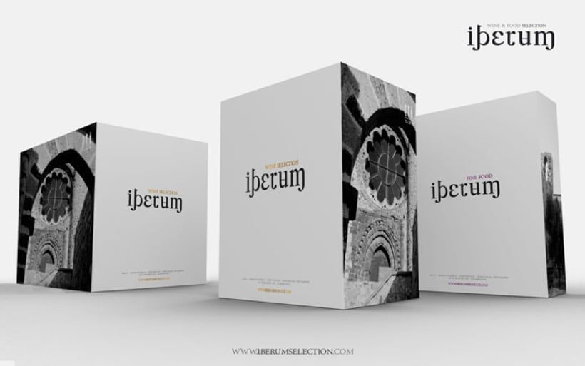 I. Corporativa para IBERUM WINE & FOOD SELECTION 6