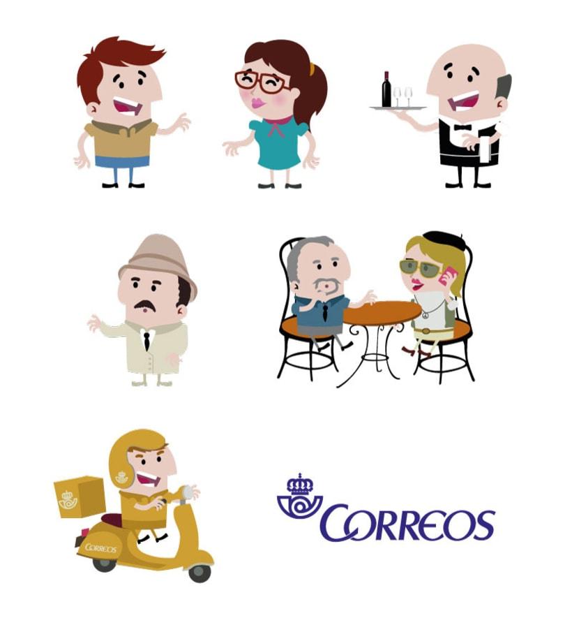 SPOT DE ANIMACIÓN PARA CORREOS 3