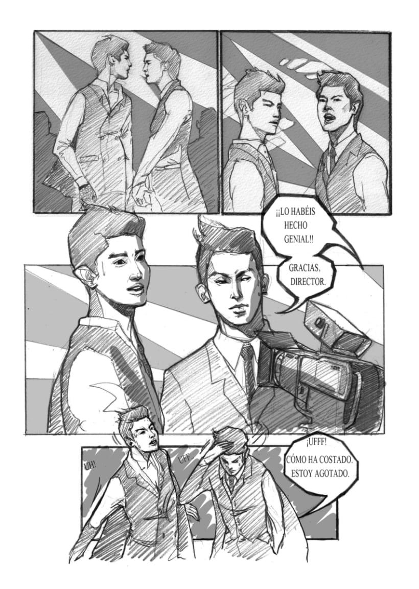 Comic DBSK / Cómic DBSK 3