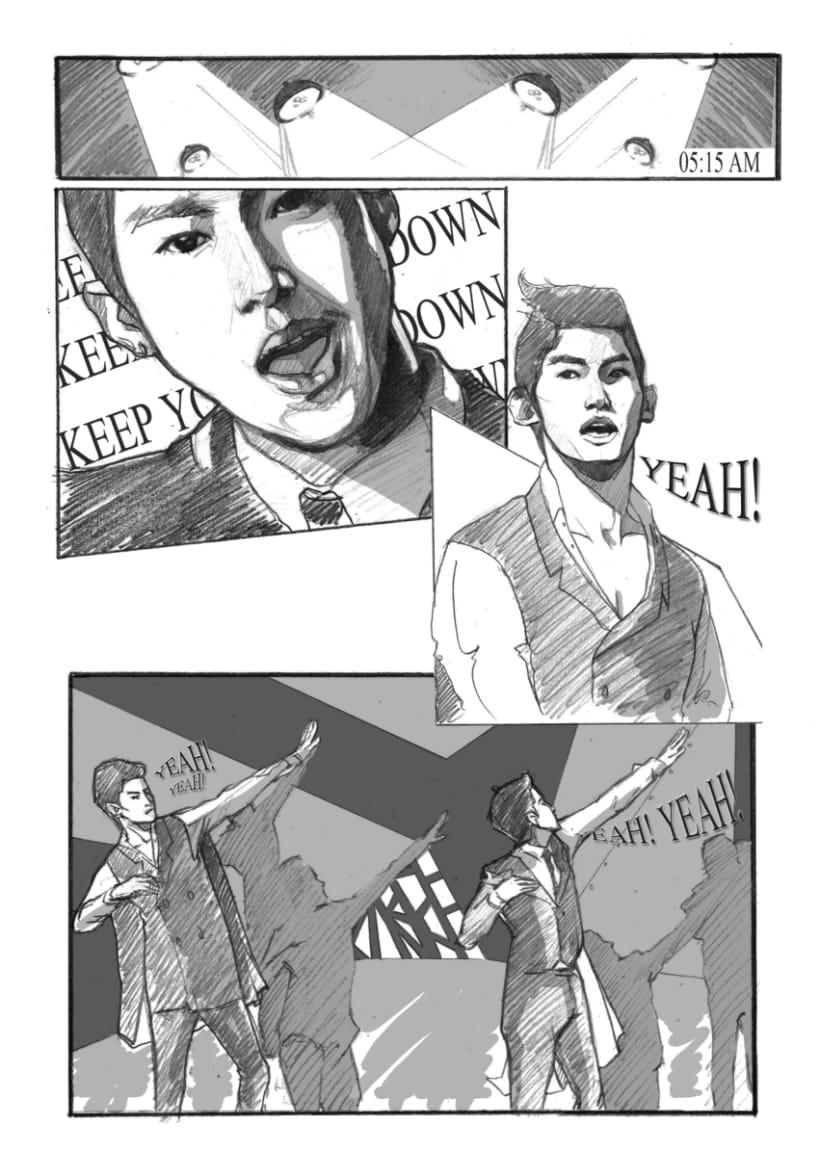 Comic DBSK / Cómic DBSK 2