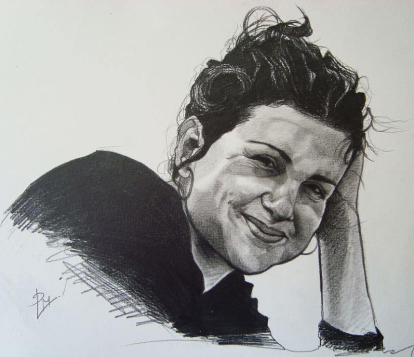Graphite portraits / Retratos a grafito 4