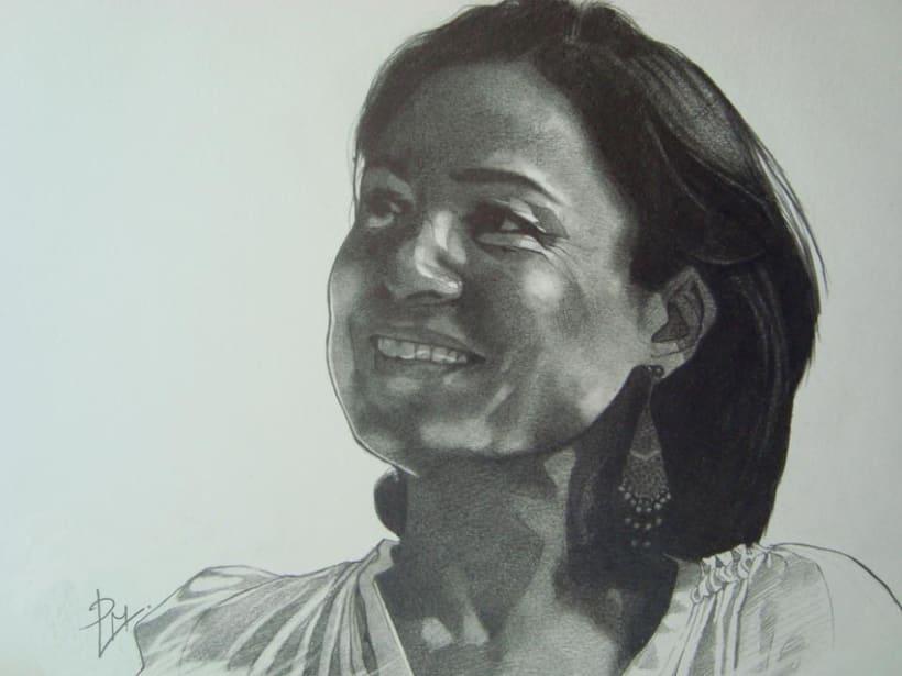 Graphite portraits / Retratos a grafito 2