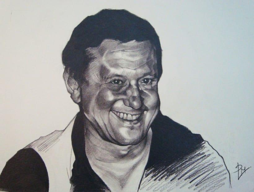 Graphite portraits / Retratos a grafito 1