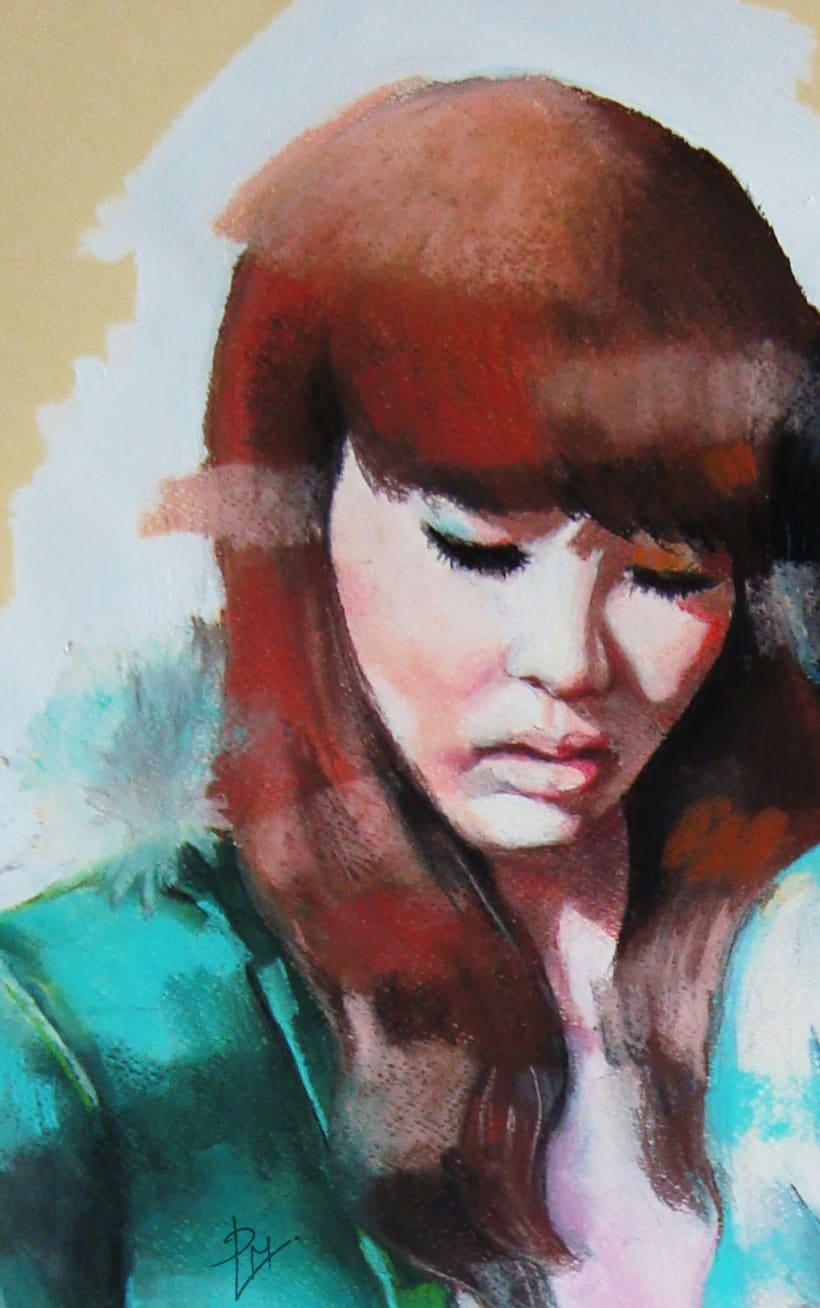 Color portraits / Retratos a color 3