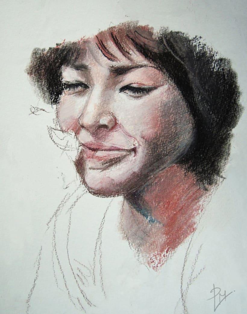 Color portraits / Retratos a color 1