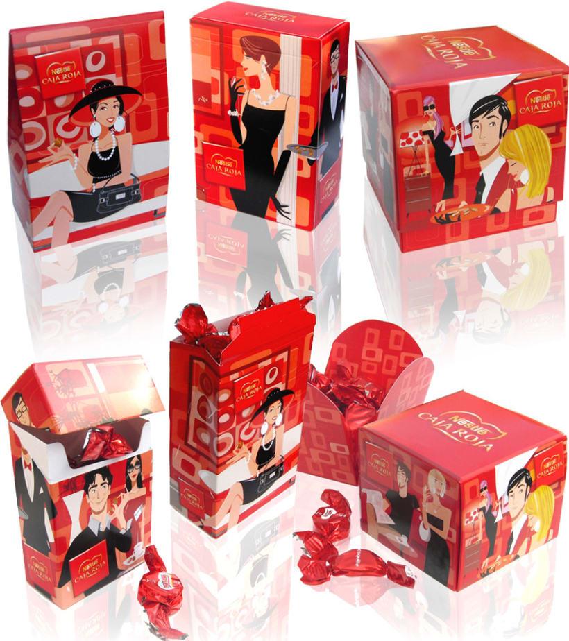 Cajas Rojas de Nestlé 1