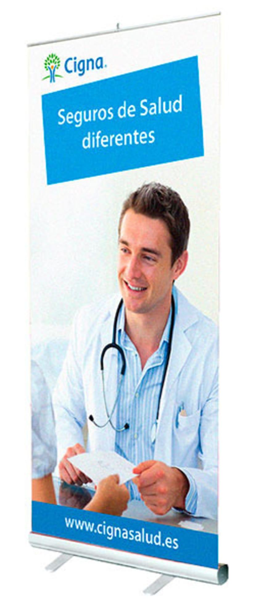 Gráfico y web para Cigna Health Insurance 8