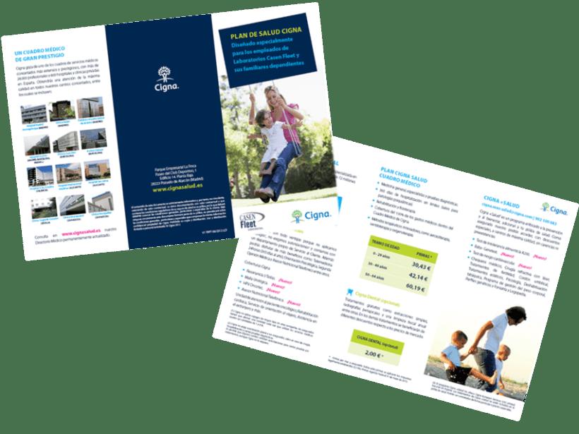 Gráfico y web para Cigna Health Insurance 11