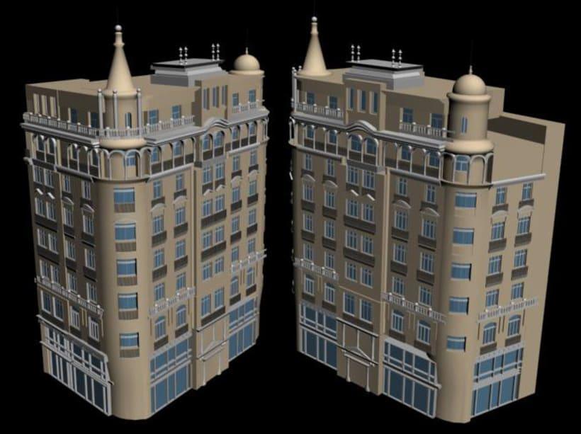3D STUDIO Escenas exteriores 3