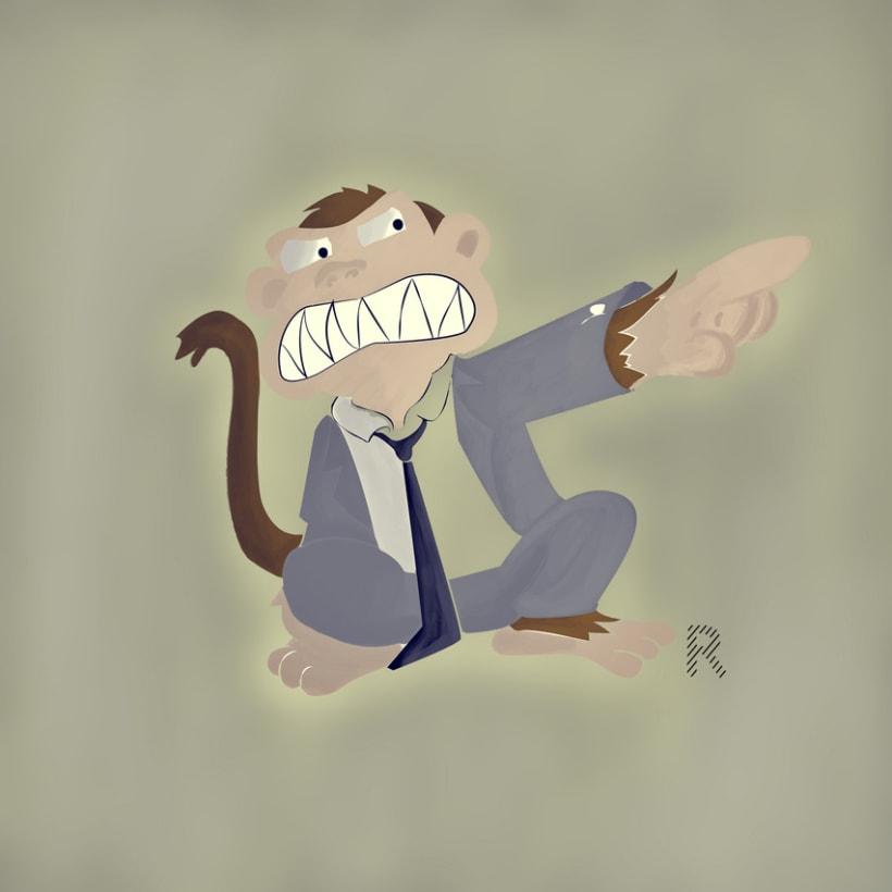 Evil Monkey 1