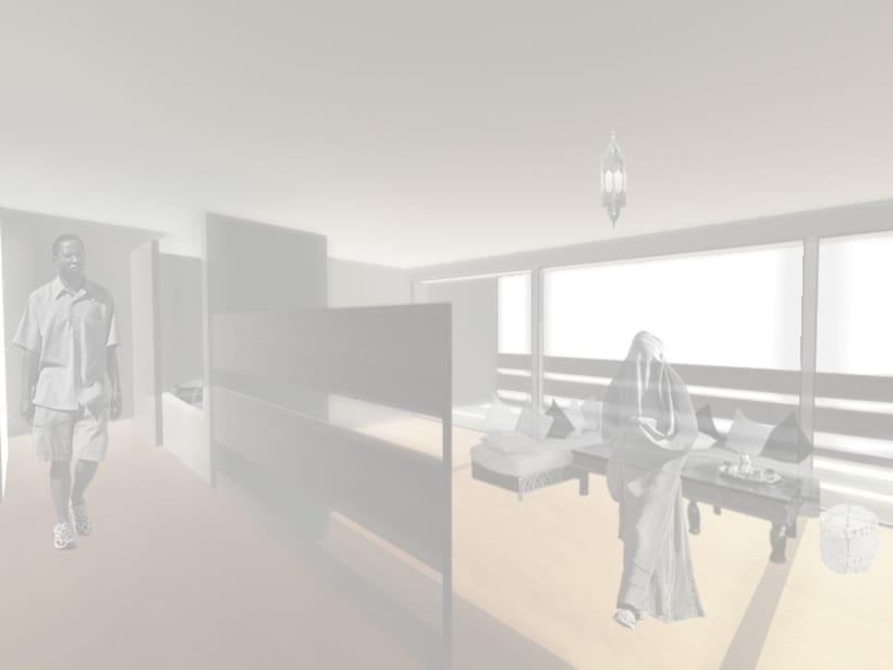 sistema residencial en Tánger-Med 4