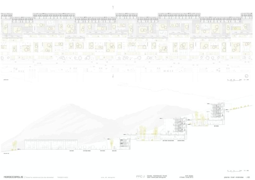 sistema residencial en Tánger-Med 3