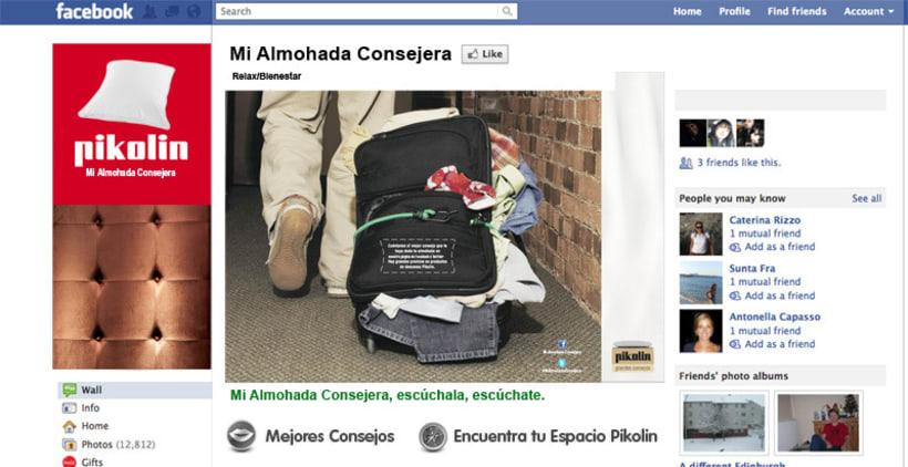 Almohadas Pikolin. Campaña.  8