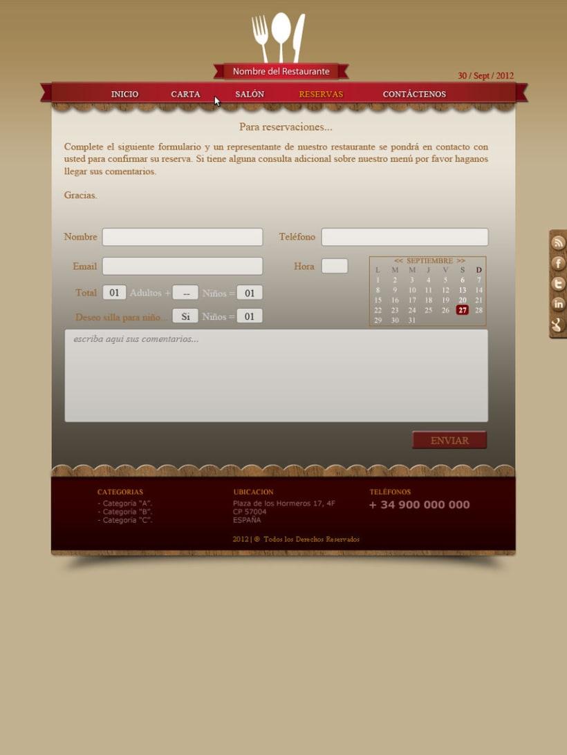Web Hostelería 5