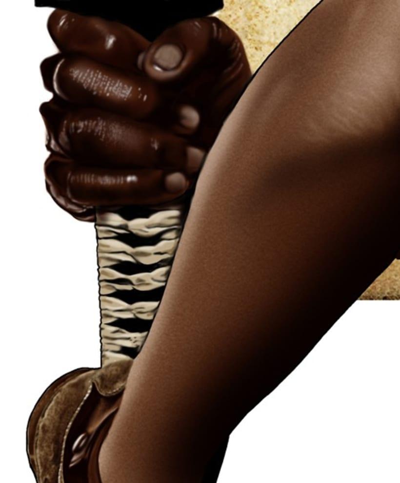 The Walking Dead Michonne 5