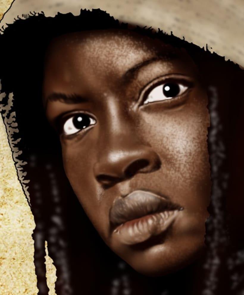 The Walking Dead Michonne 3