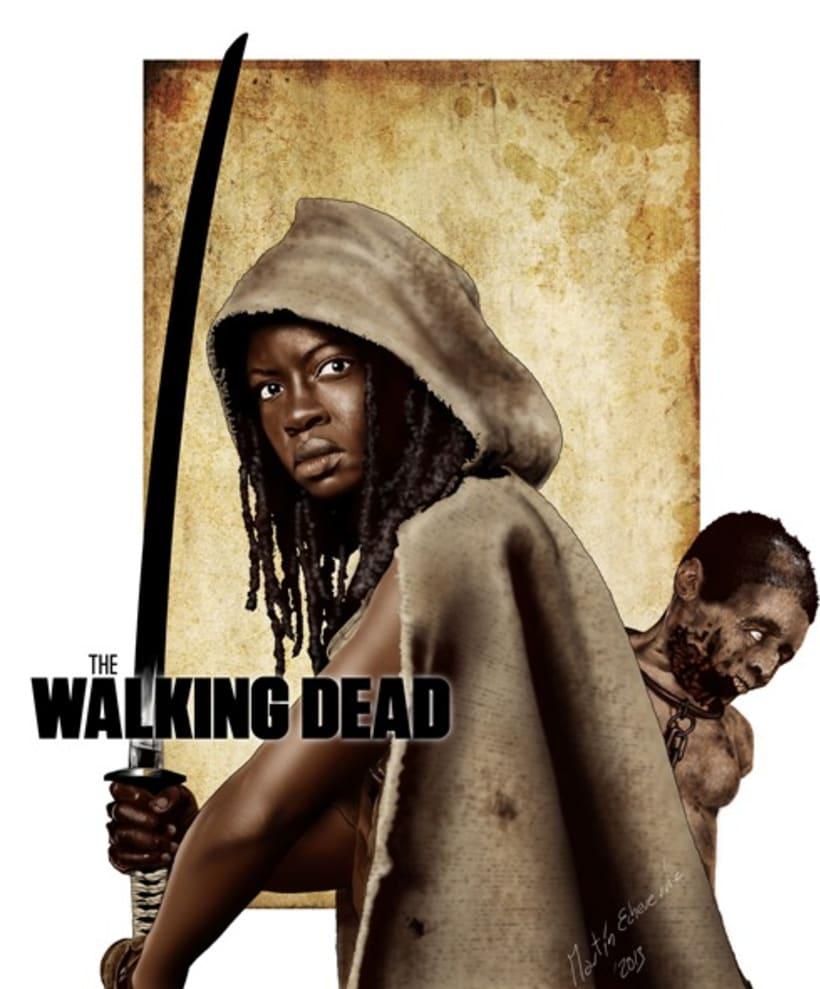 The Walking Dead Michonne 1