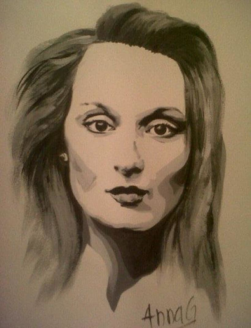 anna-gimenez-retrats-ilustraciones-retratos-encargo-portraits-sabadell-barcelona-pop-art-original-regalo-clasicos-color-carboncillo-tinta-tempera-lapiz-artista-pintura-bodegon-paisaje-meryl-streep-retrato-portrait 1