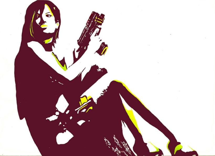 anna-gimenez-retrats-ilustraciones-retratos-encargo-portraits-sabadell-barcelona-pop-art-original-regalo-clasicos-color-carboncillo-tinta-tempera-lapiz-artista-pintura-bodegon-paisaje-videojuego-resident-evil-jill 1