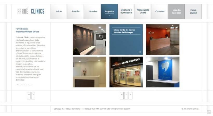 Web Farré Clinics 3