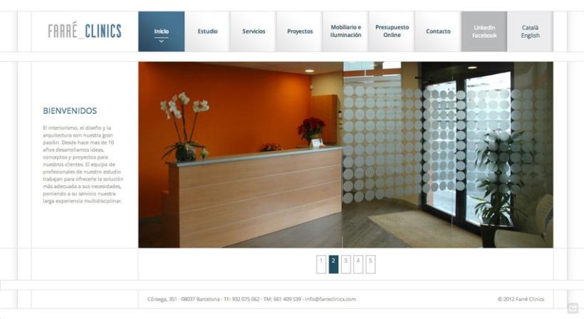 Web Farré Clinics 1